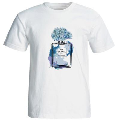 تی شرت زنانه طرح ادکلن کد 17370