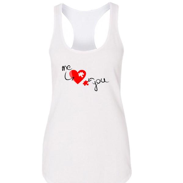 تاپ زنانه طرح قلب کد m5856