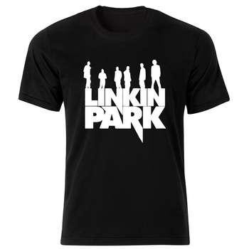 تی شرت مردانه طرح لینکین پارک کد 34158