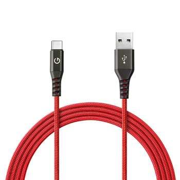 کابل تبدیل USB به USB-C انرجیا مدل Alutough طول 1.5 متر