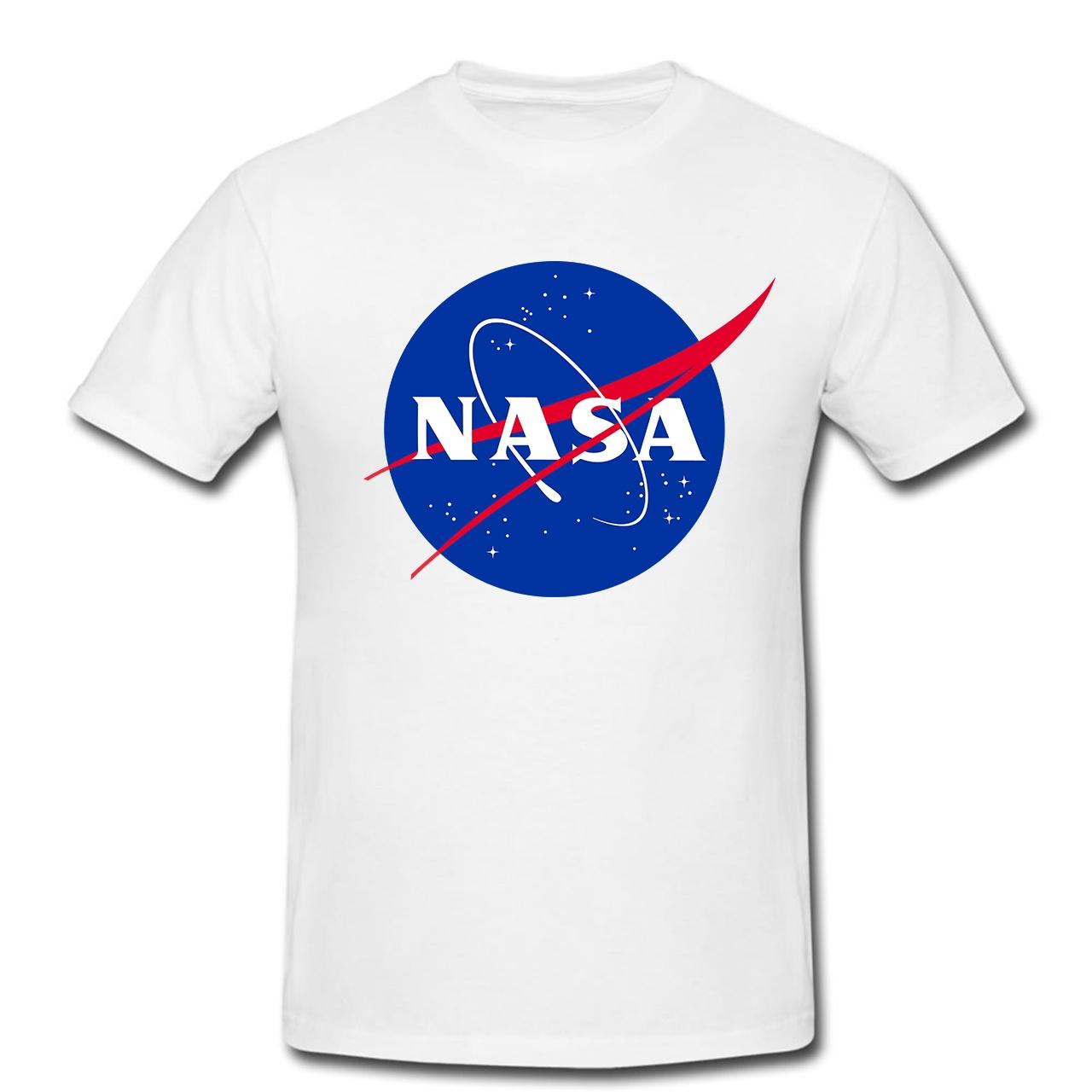 تیشرت مردانه طرح ناسا کد 0190
