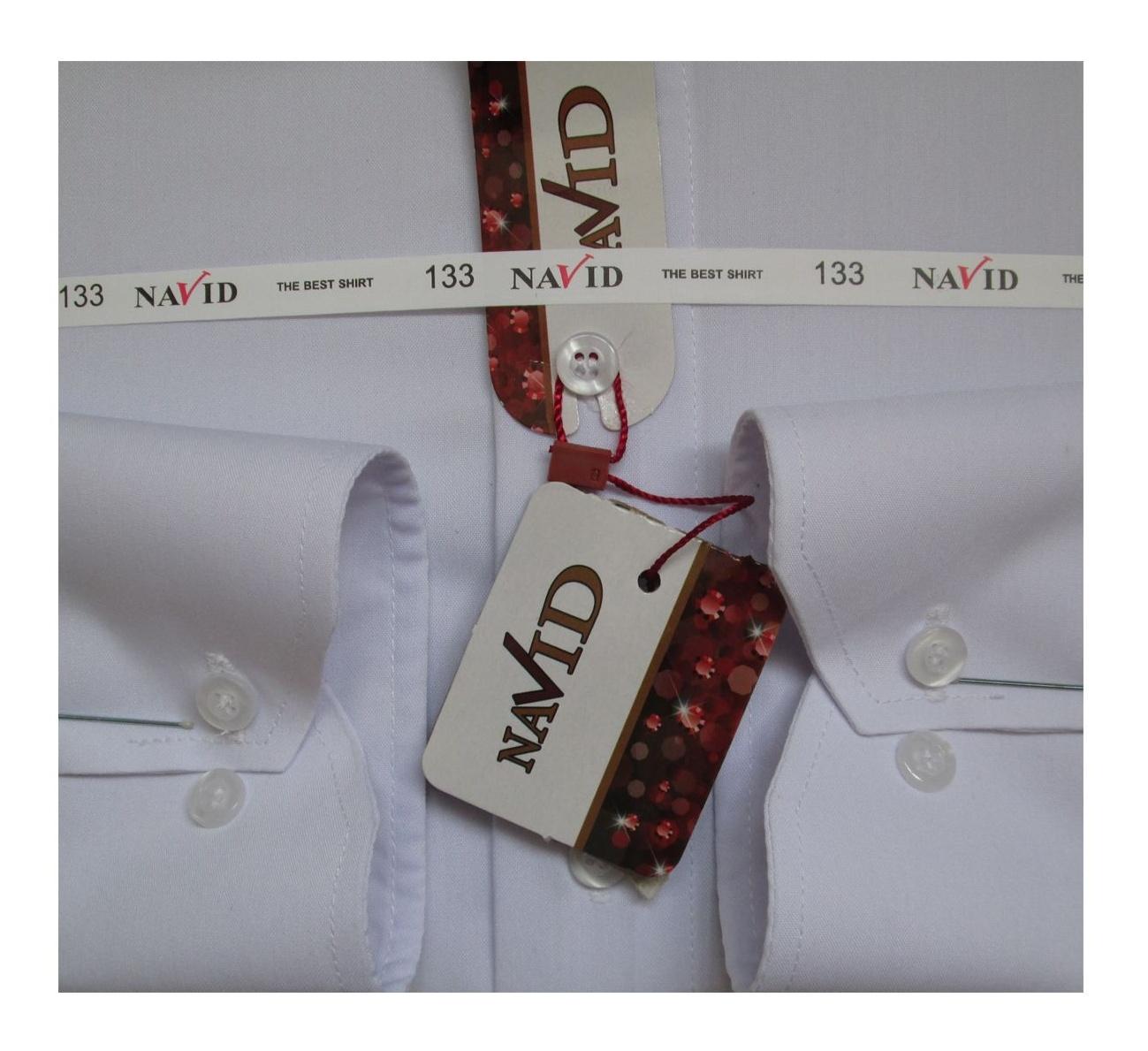 پیراهن مردانه نوید مدل TET-DAK کد 20294 رنگ سفید main 1 3