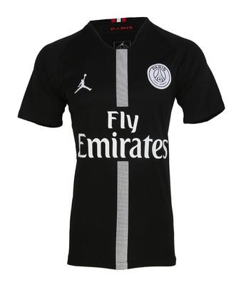 تصویر تی شرت ورزشی مردانه طرح پاریس سن ژرمن کد 2019-2018