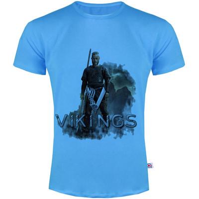 تی شرت مردانه آکو طرح vikings کد SA101