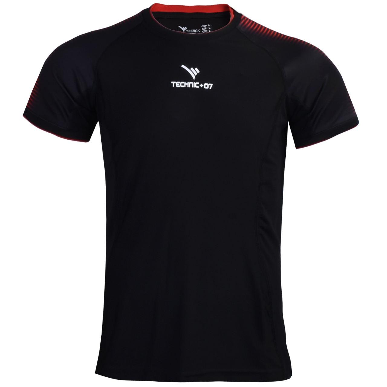 تی شرت ورزشی مردانه تکنیک پلاس 07 مدل TS-132-ME-G