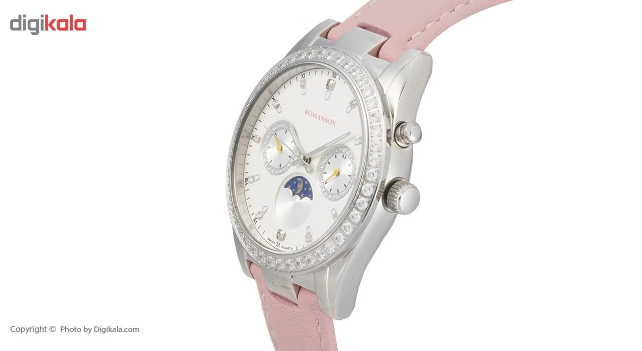 ساعت مچی عقربه ای زنانه رومانسون مدل RL4210QL1WB12W