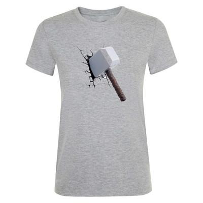 تی شرت زنانه طرح hammer