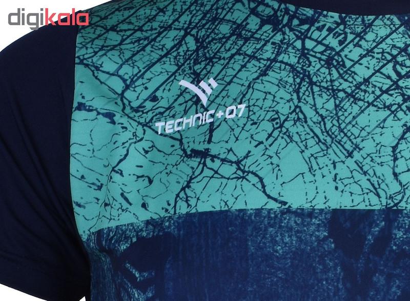 تی شرت مردانه تکنیک پلاس 07 مدل TS-134-SO