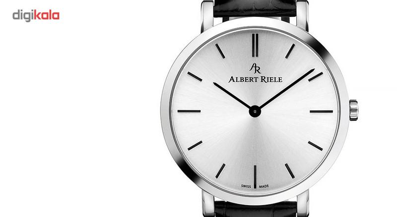 ساعت مچی عقربه ای مردانه آلبرت ریله مدل 018GQ19-SS33I-LB