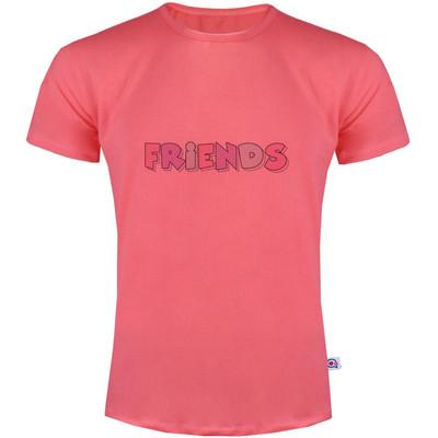 تصویر تی شرت مردانه آکو طرح FRIENDS کد SG95