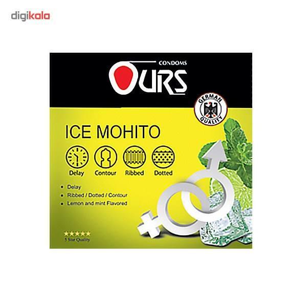 کاندوم تاخیری اورز مدل Ice Mohito بسته 3 عددی main 1 1