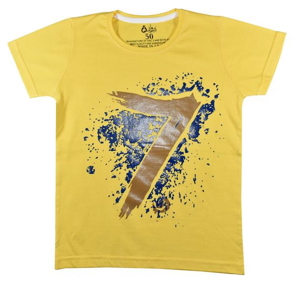 تی شرت آستین کوتاه پسرانه نیروان کد 3271