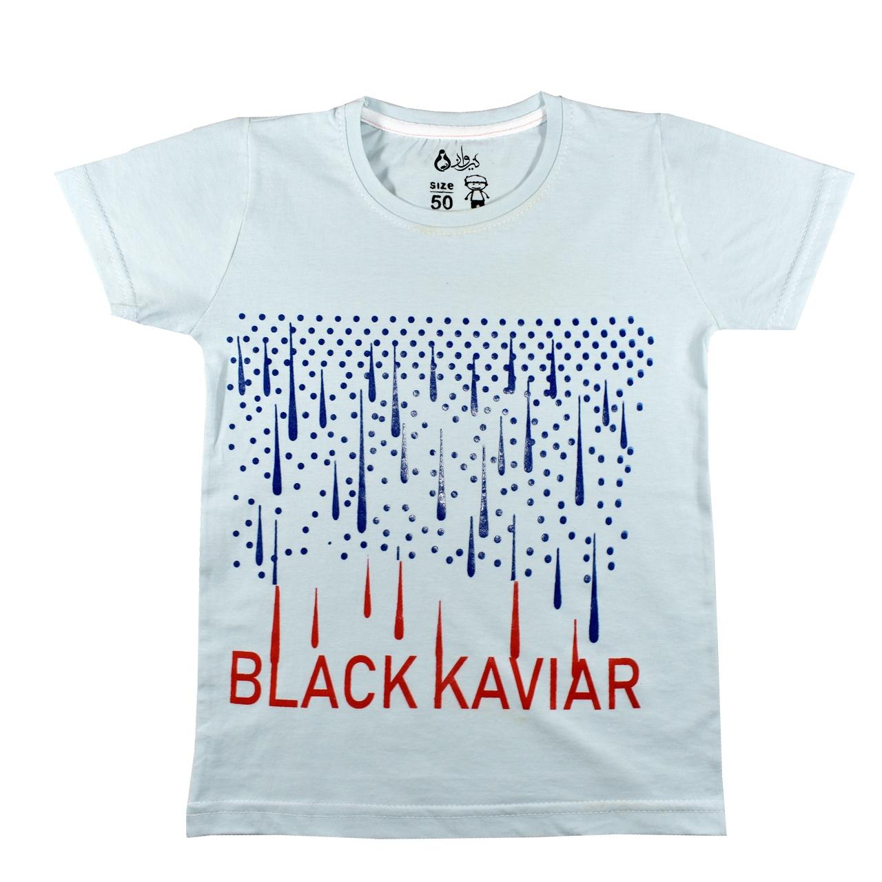 تی شرت آستین کوتاه پسرانه نیروان کد Bm-7