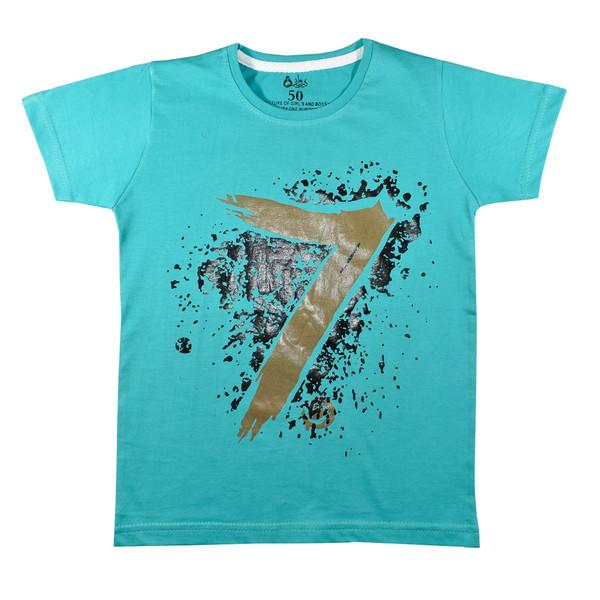 تی شرت آستین کوتاه پسرانه نیروان کد 6-327