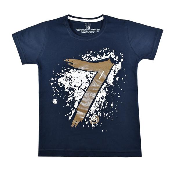 تی شرت آستین کوتاه پسرانه نیروان کد 7-327