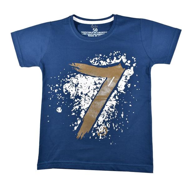 تی شرت آستین کوتاه پسرانه نیروان کد 8-327