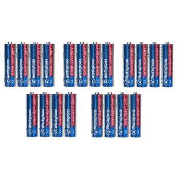 باتری قلمی وستینگ هاوس مدل Super Heavy Duty بسته 20 عددی
