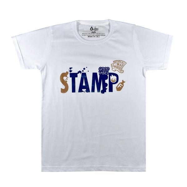 تی شرت آستین کوتاه پسرانه نیروان کد ST-3