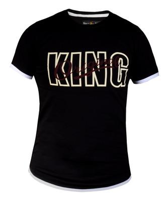 تصویر تی شرت مردانه طرح کینگ مدل KG110