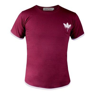 تی شرت مردانه مدل AD104 رنگ بنفش