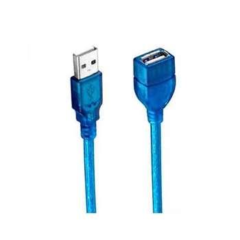 کابل افزایش طول USB کد ۰۰۴ طول 0.3 متر