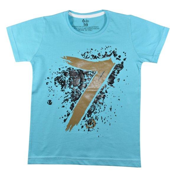 تی شرت آستین کوتاه پسرانه نیروان کد 2-327