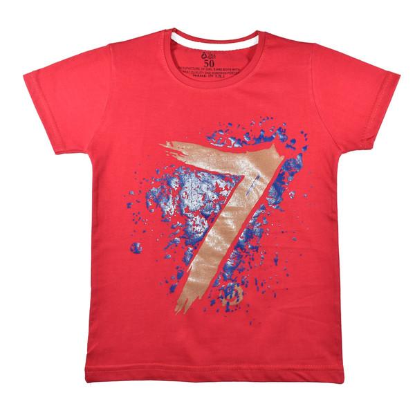 تی شرت آستین کوتاه پسرانه نیروان کد 3-327