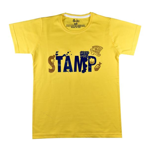تی شرت آستین کوتاه پسرانه نیروان کد ST-2