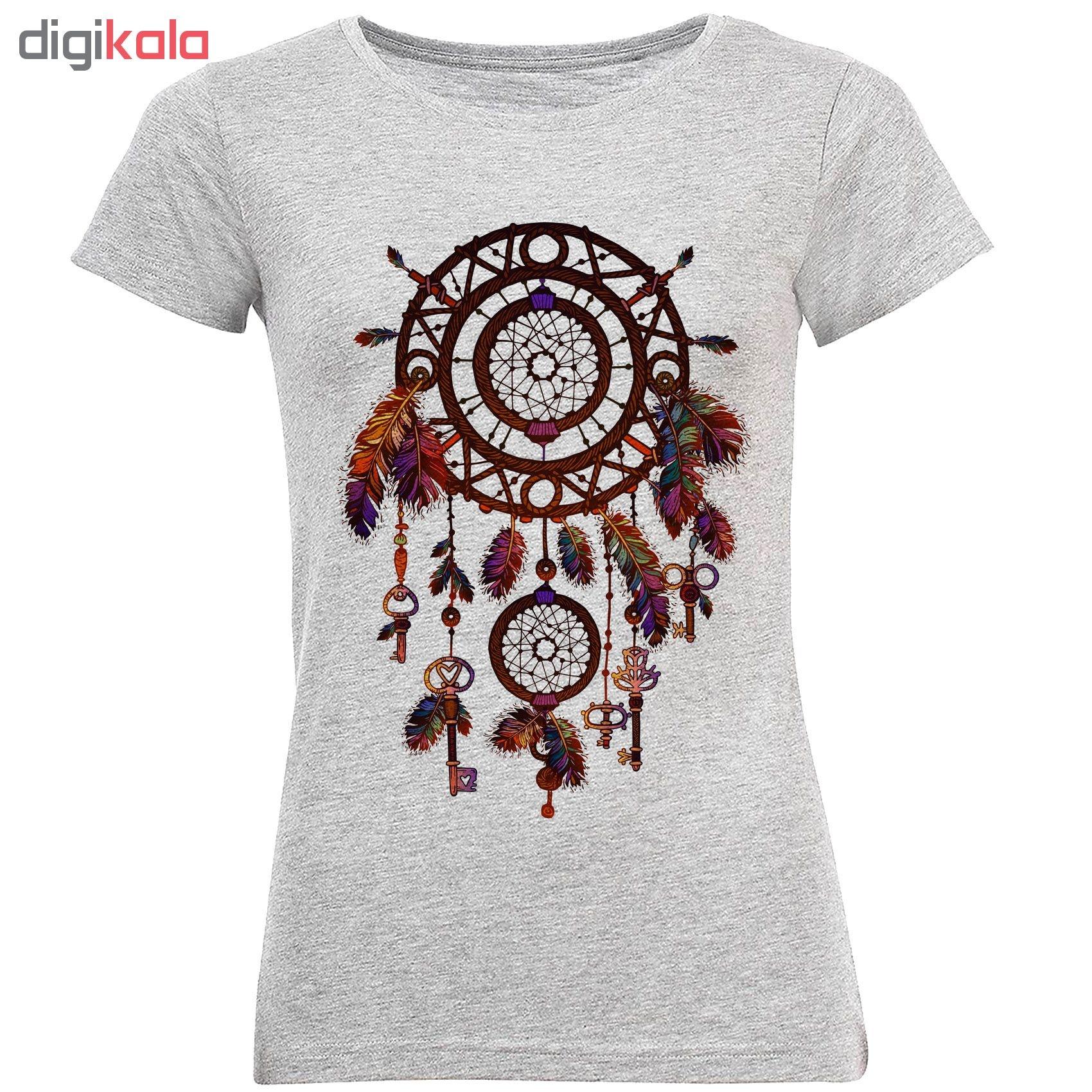 تی شرت آستین کوتاه زنانه طرح دریم کچر کد S289 main 1 1