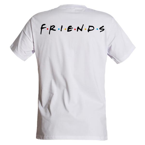 تی شرت مردانه مسترمانی طرح Friends کد 1590