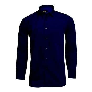 پیراهن مردانه نوید مدل TET-DAK کد 20318 رنگ سرمه ایی