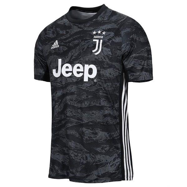 تی شرت ورزشی مردانه طرح یوونتوس مدل 2020-2019 کد Goalk