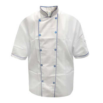 تصویر لباس کار آشپزی مدل IGD رنگ سفید