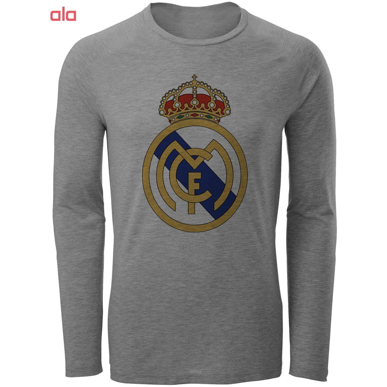 تی شرت آستین بلند مردانه طرح رئال مادرید مدل S27 main 1 1