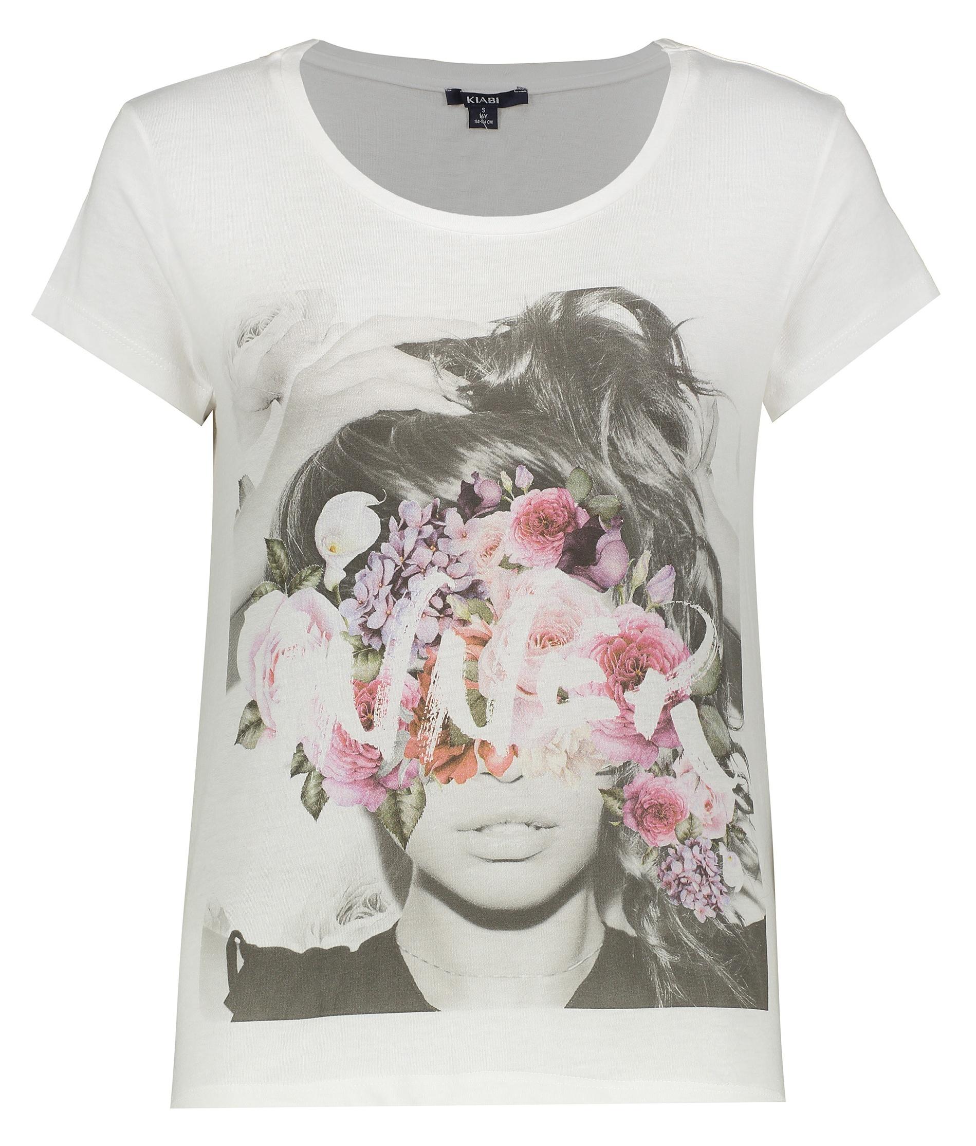 تصویر تی شرت زنانه کیابی مدل 8018
