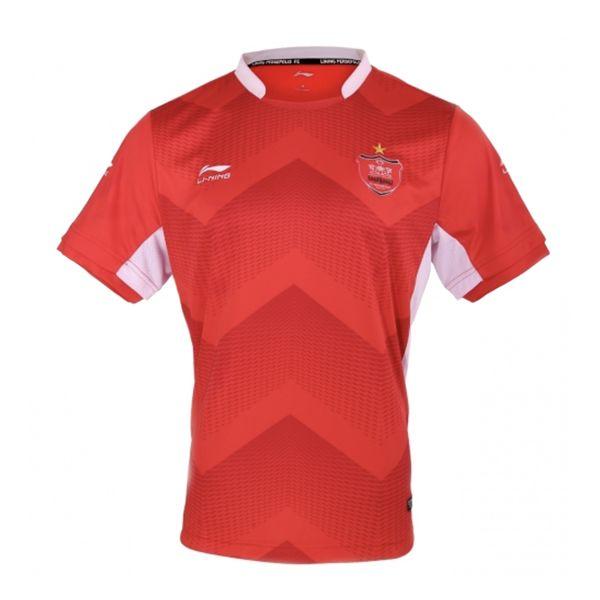 تی شرت ورزشی مردانه لینینگ طرح تیم پرسپولیس کد 1240
