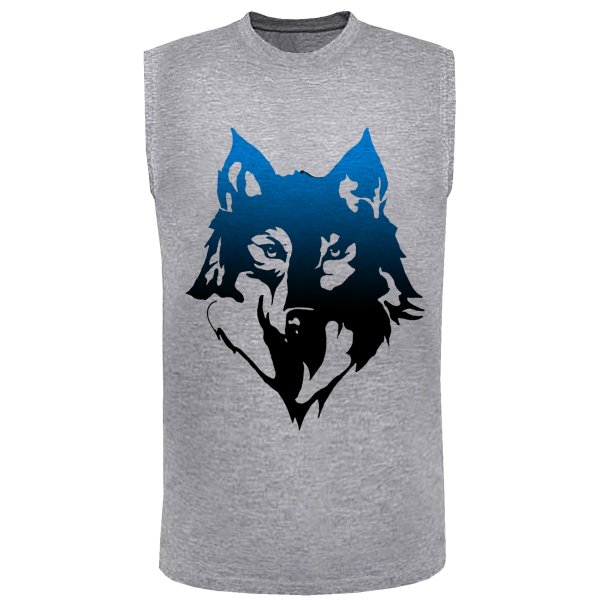 تاپ مردانه طرح wolf کد SM39
