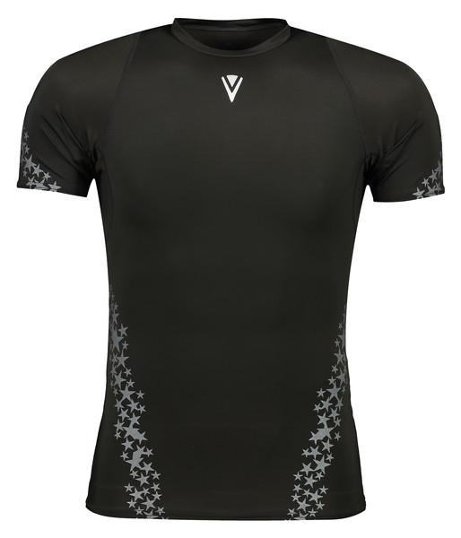 تی شرت ورزشی مردانه وی اسکین مدل VSN-2020HT-SBK