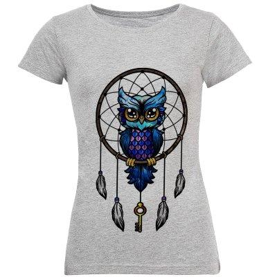 تصویر تی شرت آستین کوتاه زنانه طرح دریم کچر مدل S126