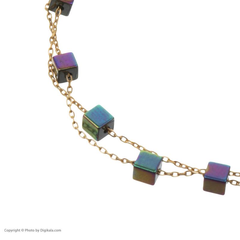 دستبند طلا 18 عیار زنانه نیوانی مدل DA324