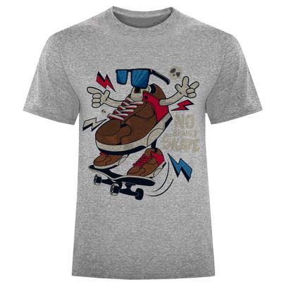 تی شرت مردانه طرح کتونی کد S137