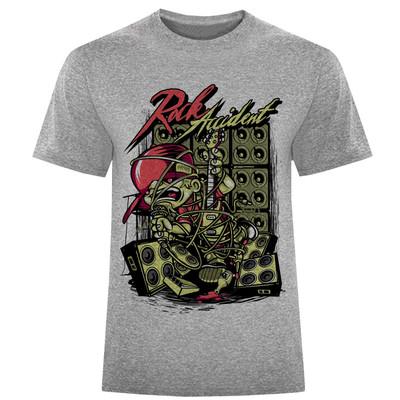 تصویر تی شرت مردانه طرح موزیک کد S167