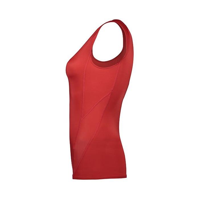 تاپ ورزشی زنانه وی اسکین مدل VSN-1210NT-RED