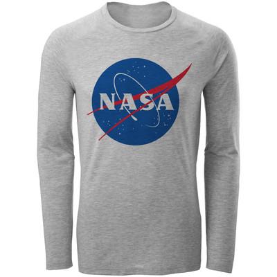 تی شرت آستین بلند مردانه طرح nasa کد S283