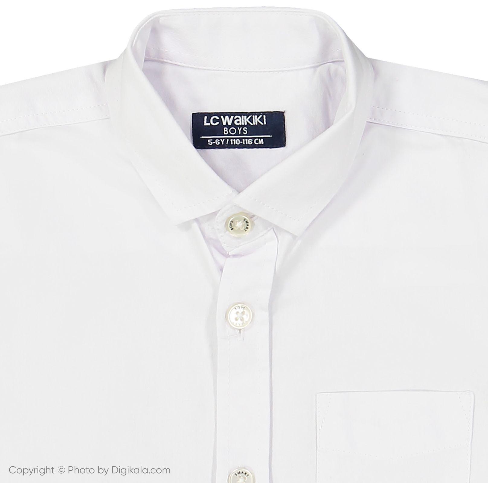 پیراهن پسرانه ال سی وایکیکی مدل 9SN358D4-JYX main 1 3