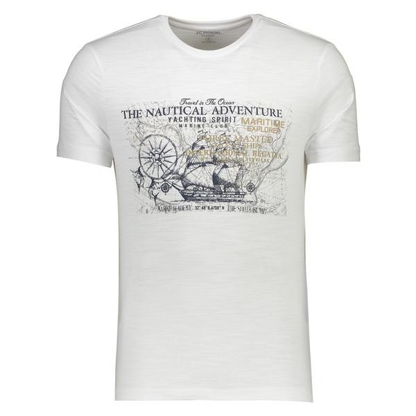تی شرت مردانه ال سی وایکیکی مدل 9SV056E8-K7U