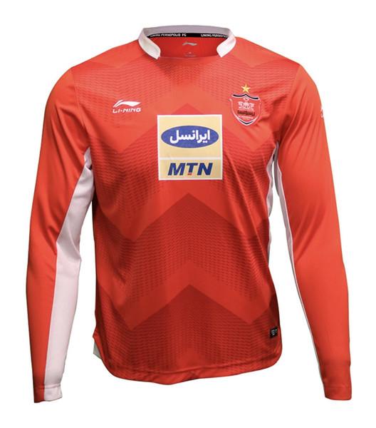 تی شرت ورزشی مردانه لینینگ طرح تیم پرسپولیس کد ۱۲۴۸