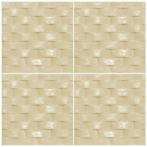 دیوارپوش تندیس و پیکره شهریار مدل آمای کد W1010-22 بسته 4 عددی