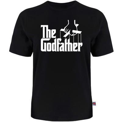 Photo of تی شرت آستین کوتاه مردانه آکو طرح GOD FATHER کد 36