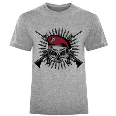 تی شرت مردانه طرح اسکلت کد S154